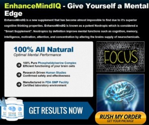 enhance mind iq supplement